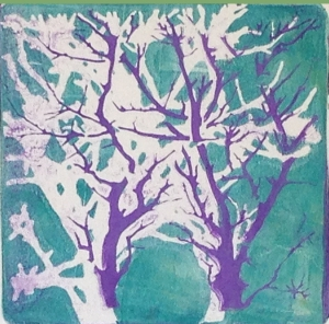trees_duo_monoprint